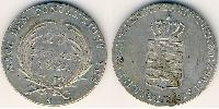 20 Kreuzer States of Germany Argent