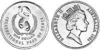 1 Dollar Australia (1939 - ) Nickel-Aluminum-Copper Elizabeth II (1926-)