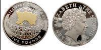 5 Pound Jersey Silver Elizabeth II (1926-)