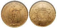 20 Krone Hungría (1989 - ) Oro