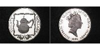 20 Dollar Virgin Islands Silver Elizabeth II (1926-)
