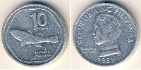 10 Centimo Philippines Aluminium