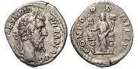 1 Denario Impero romano (27BC-395) Argento Didius Julianus (137-193)