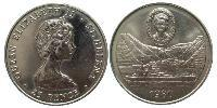 25 Penny Saint Helena (1981 - ) Copper-Nickel Elizabeth II (1926-)