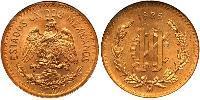 10 Centavo United Mexican States (1867 - ) Bronze