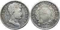 2 Franc States of Germany Silver Napoleon Bonaparte  (1769 - 1821)