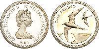 1 Pound Saint Helena (1981 - ) Silver Elizabeth II (1926-)