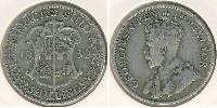2 Shilling Afrique du Sud Argent George V (1865-1936)
