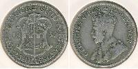 2 Shilling Afrique du Sud Argent George V (1865-1936)