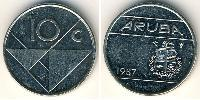 10 Cent Aruba Copper-Nickel