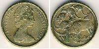 1 Dollar Australie (1931 - ) Nickel
