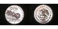 25 Peso Mexico Silver