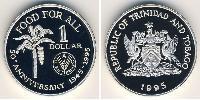 1 Dollar  Silver