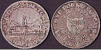 1 Shilling / 1 Token United Kingdom of Great Britain and Ireland (1801-1922) Silver