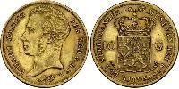 10 Gulden Kingdom of the Netherlands Gold William I of the Netherlands (1772 - 1843)