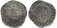 1/2 Крона(английская) Королевство Англия (927-1649,1660-1707) Серебро Карл  I (1600-1649)