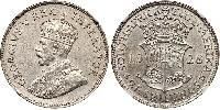 2.5 Shilling South Africa Silver George V of the United Kingdom (1865-1936)