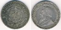 2.5 Shilling South Africa Silver