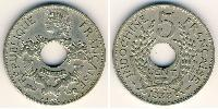 5 Cent French Indochina (1887-1954) Copper-Nickel