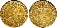 1 Unite Kingdom of England (927-1649,1660-1707) Gold Charles I (1600-1649)