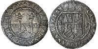 4 Real Vizekönigreich Neuspanien (1519 - 1821) Silber Karl V, Römisch-deutscher Kaiser (1500-1558)