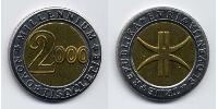 3 Euro Slovenia Bimetal