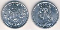 1 Franc Madagascar Aluminium