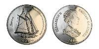 1 Crown Tristan da Cunha Copper-Nickel Elizabeth II (1926-)