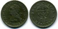10 Centavo / 2 Macuta Portugal / Portuguese Angola (1575-1975) Copper-Zinc