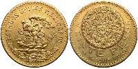 20 Peso Mexiko (1867 - ) Gold