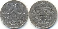20 Centime Latvia (1991 - ) Nickel