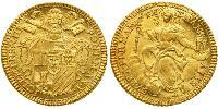 1 Zecchino Papal States (752-1870) Gold Pope Clement XIII (1693 -1769)