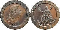 2 Penny Kingdom of Great Britain (1707-1801) Copper George III (1738-1820)