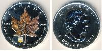 5 Dollar Canada Silver
