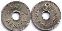 1 Penny Fiji