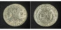 1 Patagon  Silver Charles II of Spain (1661-1700)