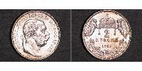 2 Korona Autriche-Hongrie (1867-1918) Argent Franz Joseph I (1830 - 1916)