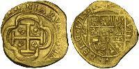 8 Escudo Nouvelle-Espagne (1519 - 1821) Or