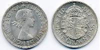 1/2 Крона(английская) Великобритания (1922-) Медь-Никель Елизавета II (1926-)