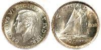 10 Cent Canada Silver George VI (1895-1952)