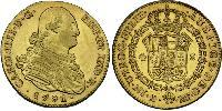 4 Escudo Spain Gold Charles IV of Spain (1748-1819)