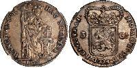 3 Gulden Provinces-Unies (1581 - 1795) Argent