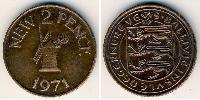 2 Penny  Bronze