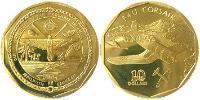 10 Dollar Marshall Islands Brass