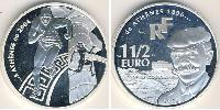 1 1/2 Euro France Argent