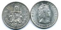 1 Crown Bermuda Silver Elizabeth II (1926-)