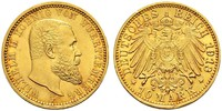 10 Mark States of Germany Oro Wilhelm II, German Emperor (1859-1941)