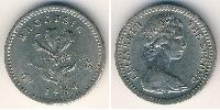6 Пенни / 5 Цент Родезия (1965 - 1979) Медь-Никель Елизавета II (1926-)