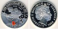 5 Pound Guernsey Silver