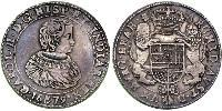 2 Ducaton Kingdom of the Netherlands Silver Charles II (1630-1685)